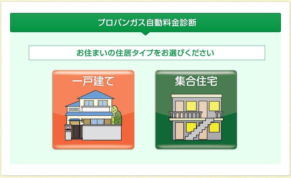 ガス屋の窓口 pcでの申し込み方法2