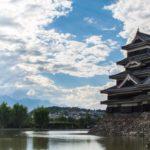 長野県にある松本城