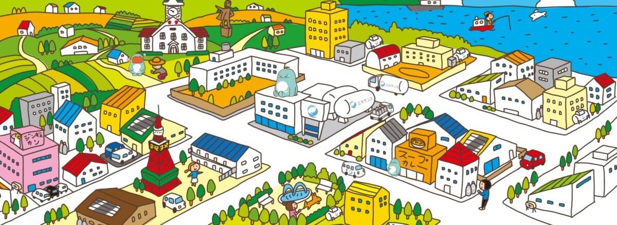 エネサンス北海道の公式サイト画像1