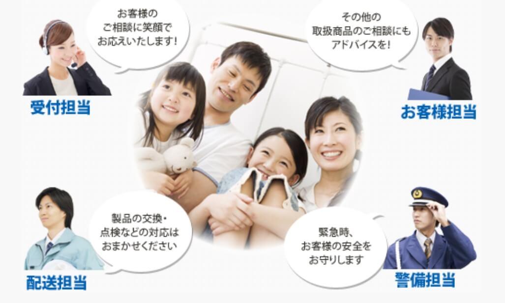 TOKAIガスの公式サイト画像2